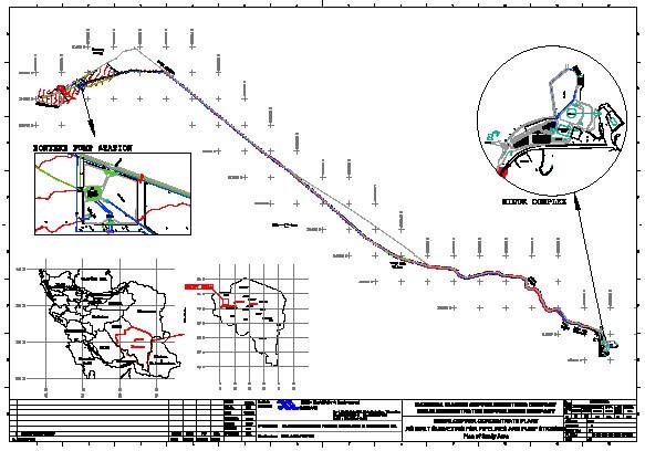 نقشههای چونساخت مجتمع مس میدوک