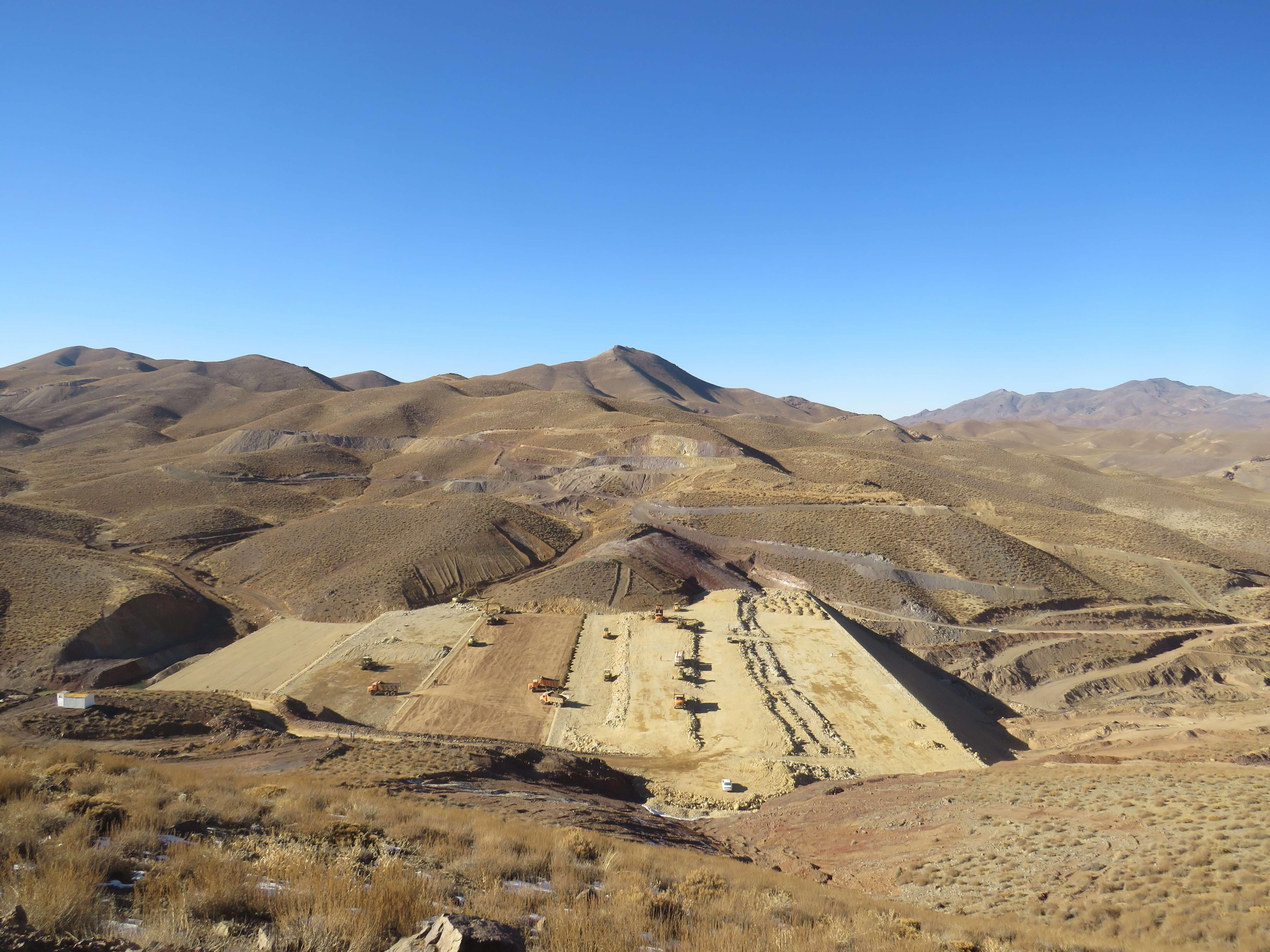 پروژه سد رسوبگیر مجتمع مس دره آلو
