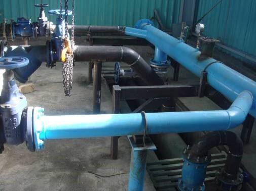 عملیات اجرایی و بهسازی ایستگاه آب آشامیدنی، تصفیه فاضلاب بهداشتی و آب آتشنشانی